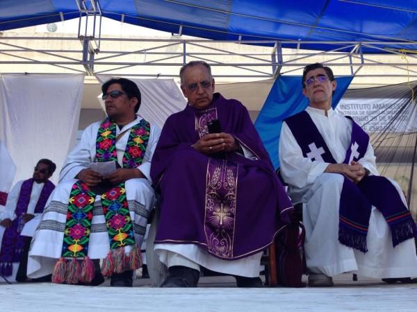 """""""Queremos a Dios al lado de los pobres"""", párrocos y sacerdotes responden al llamado. Foto: Isaín Mandujano/ChiapasPARALELO"""