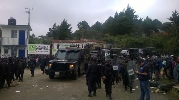 Operativo policiaco y militar para capturar a cuatro presuntos miembros de Los Diablos