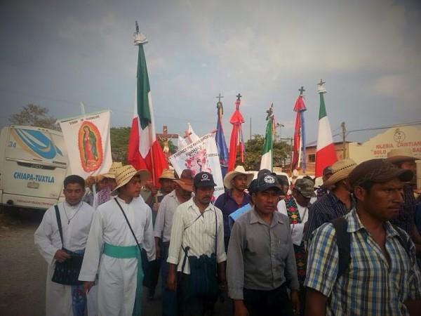Marcha del Pueblo Creyente: Foto: Cortesía
