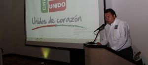 Dirigente de Chiapas Unido, Emanuel de Jesús Córdova García.