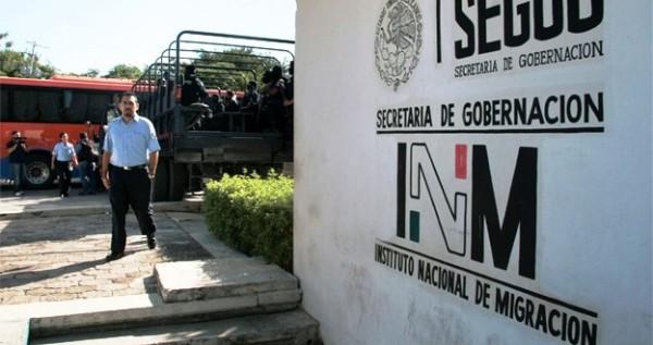 Denuncian abusos del INM. Foto: Cortesía