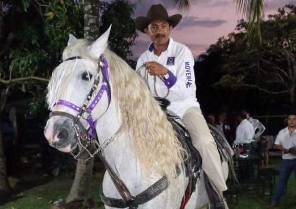Enoc Hernández, líder de Mover a Chiapas.