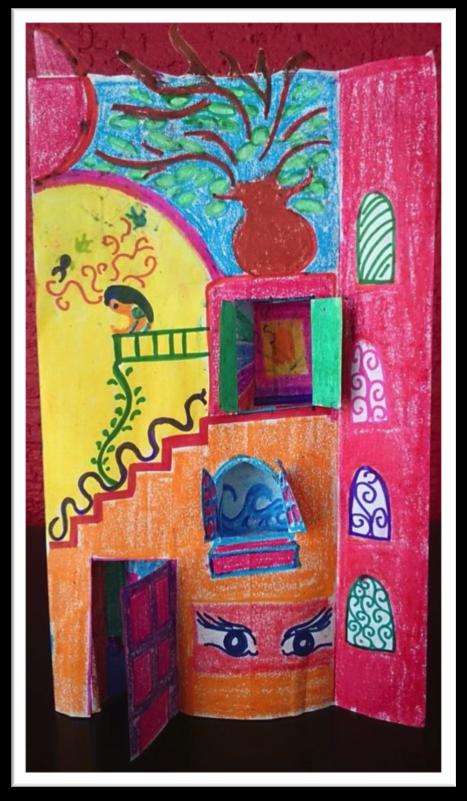 Ilustración: Mónica Corzo Aguirre/ Crayola sobre papel bond