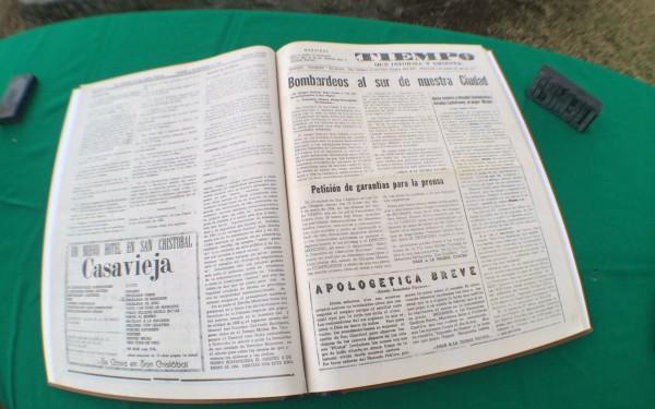 Periódico Tiempo del 5 de enero de 1994. Foto: ChiapasPARALELO
