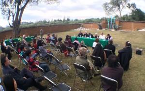 Presentación de archivo hemerográfico de Hoy, Tiempo y La Foja Coleta, en San Cristóbal de las Casas, Chiapas. Foto: ChiapasPARALELO