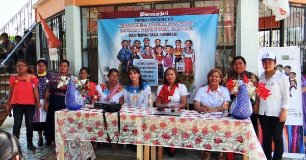 Agenda de mujeres indígenas. Foto: Cortesía