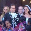 La boda de Manuel Velasco y Anahí Puente. Foto: Twitter