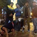 """""""Lo practicamos más que nada porque crecimos con amigos del barrio"""". Foto: Emiliano Hernánez"""