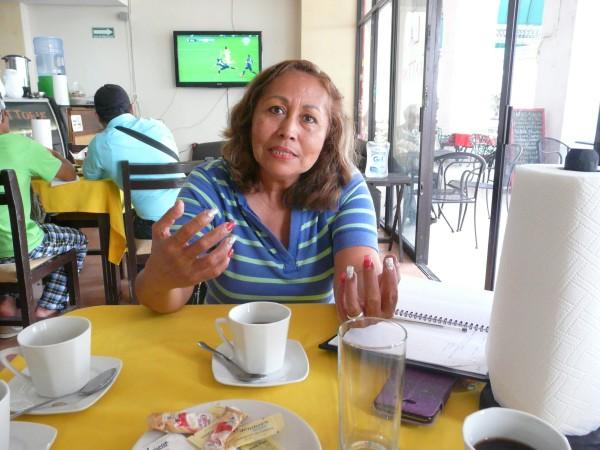Las demandas comunitarias de apoyo son por   la sobrevivencia: Soia Torres