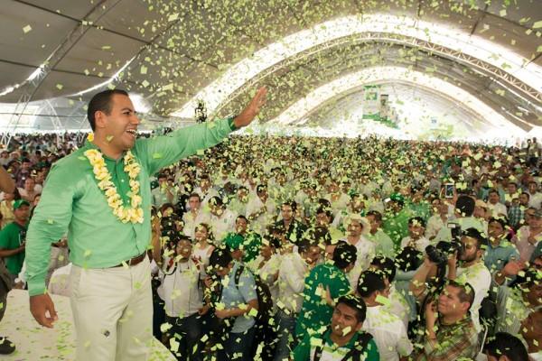 Eduardo Ramírez Aguilar, de la Secretaría del gobierno de Chiapas al PVEM. Foto: Facebook