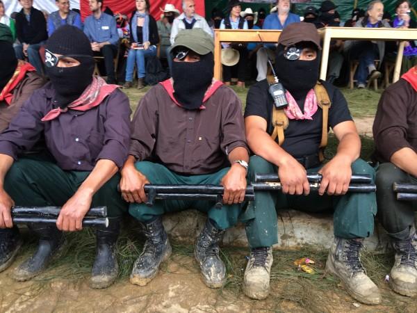 Zapatistas. Foto: ChiapasPARALELO