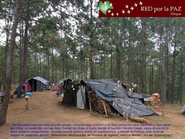 Poblado Primero de Agosto. Foto: Misión Civil de Observación