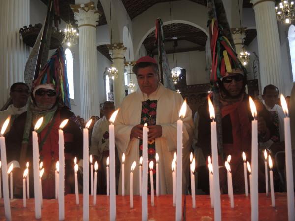 Felipe Arizmendi, el obispo número 45 de la Diócesis de San Cristóbal, hoy se retira. Foto: Raúl Vera