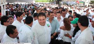 Chiapas Unido...con el gobierno en turno. Foto: Cortesía