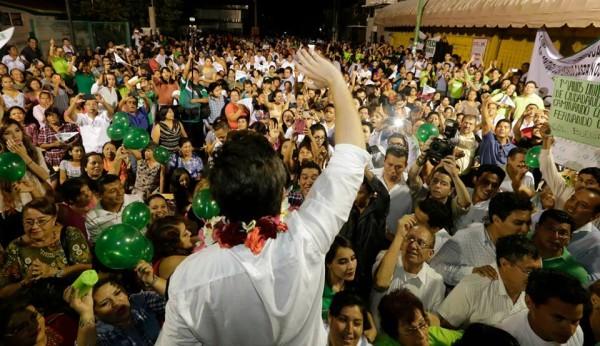 La apuesta del Estado, al voto verde. Foto: facebook