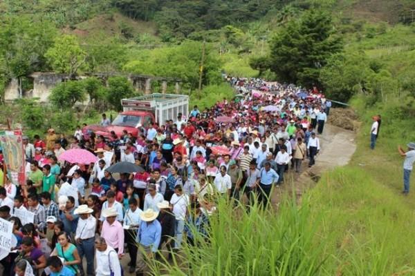 Pueblo de El Bosque: Foto: Frayba