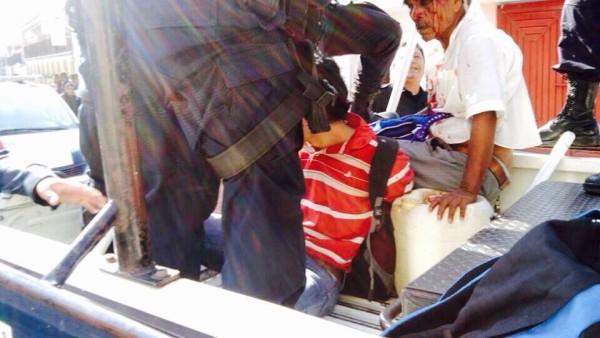 Detenciones arbitrarias y violentas en el municipio de Ocosingo. Entre ellas las de un catecista de la Diócesis de San Cristóbal. Foto: Cortesía