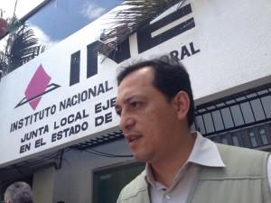 Edgar Humberto Arias, delegado estatal del INE en Chiapas.