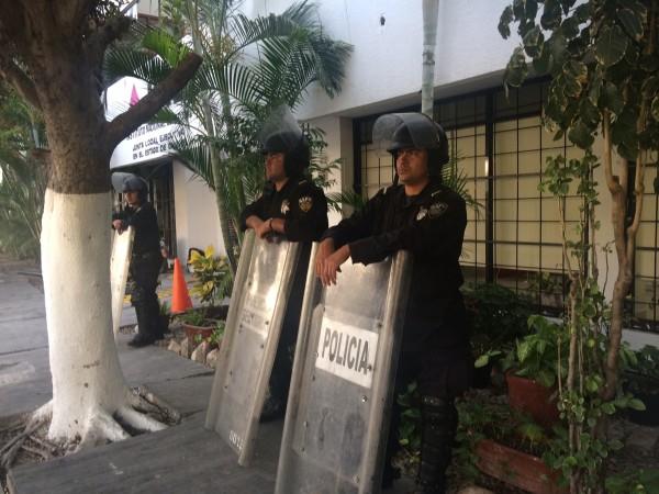 INE exigen garantías de seguridad para que se lleve a cabo la jornada electoral del 7 de junio. Foto: ChiapasPARALELO