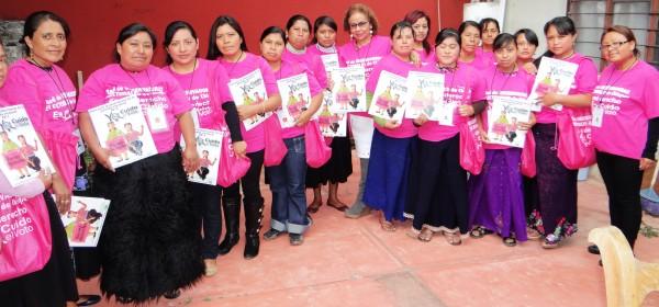 Observadoras electorales de Chiapas. Foto: Cortesía