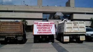 Firmaron acuerdo con el gobierno de Chiapas