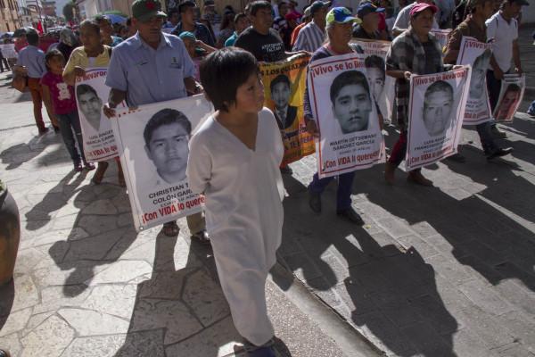 Anuncian que recorrerán el país hasta encontrar a los desaparecidos. Foto: Moyses Zuniga Santiago.