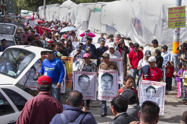 Piden a la sociedad mexicana que no los olvide. Foto: Moyses Zuniga Santiago.