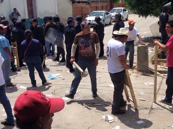 Violencia postelectoral en Chiapas