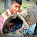 """De tanto caminar no sólo se gasta el alma también los """"burros"""" (botas). Foto: Rubén Figueroa"""