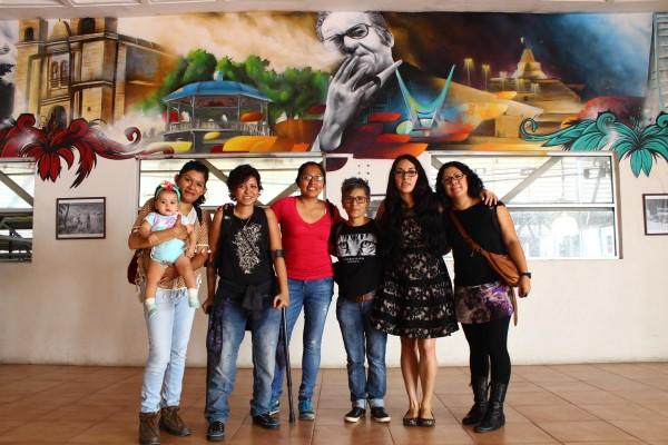 Las mujeres que fueron fotografiadas para el proyecto. Foto: Roberto Ortíz/ Chiapas PARALELO.
