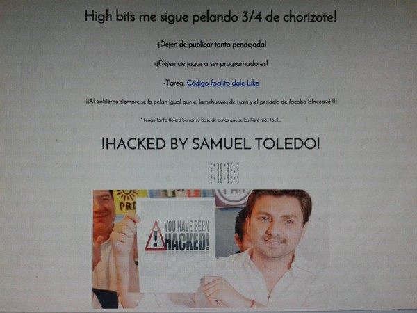 Hackean web de Código Sur y denuncian compra masiva de la versión impresa