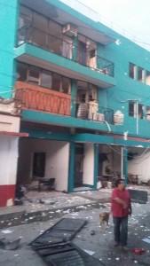El edificio sede de la Universidad Salazar en Cintalapa