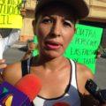 Karen Vallecillo, Deyra Elizabeth y Santa María Rosales, originarias de Honduras, se conocieron en prisión, cuando en el estado de Chiapas habían sido acusadas injustamente del delito de trata de personas. Foto: Benjamín Alfaro