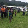 La empresa Servicios Aéreos San Cristóbal S.A de C. V. continuó prestando los servicios aéreos a las comunidades, a costa de su propia economía. Foto: Ángeles Mariscal/Chiapas PARALELO