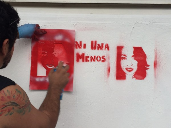 Ni Una Menos. Foto: Isaín Mandujano/Chiapas PARALELO