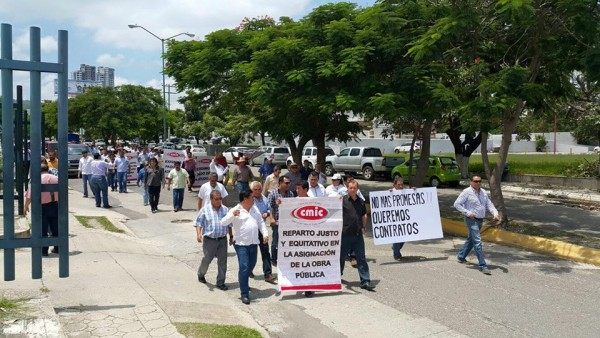 Marcha de la CMIC. Foto: Chiapas PARALELO