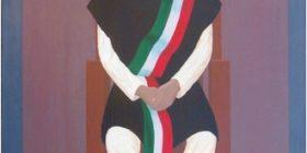 Retrato del líder idígena chamula, Jacinto Pérez Pajarito. Del pintor Juan Gallo.