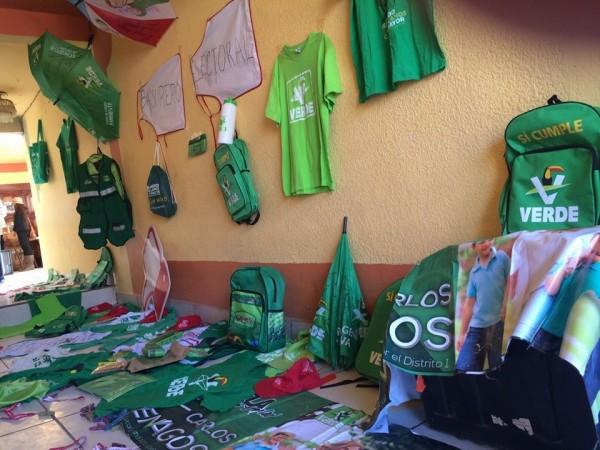 Expo-fraude en San Cristóbal, Chiapas. Foto: Cortesía