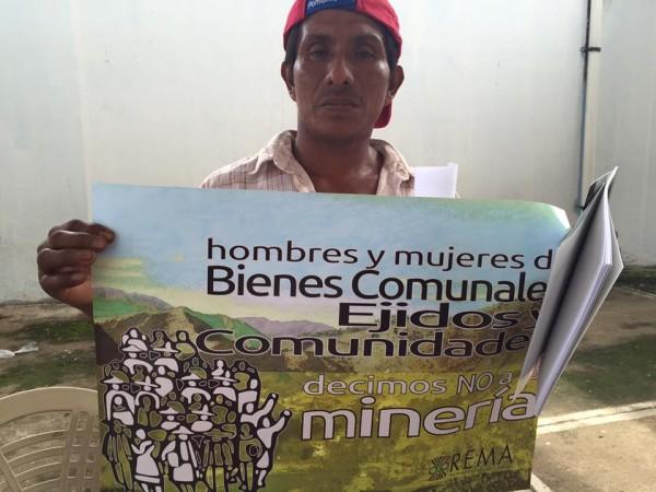 La minería y el despojo del territorio. Foto: Isaín Mandujano/Chiapas PARALELO