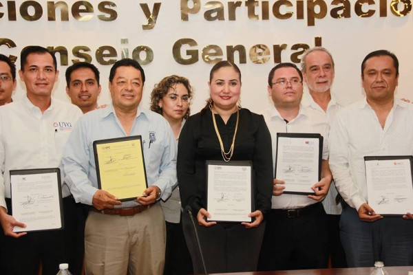 El Consejo General es garante de una democracia incluyente: María de Lourdes Morales Urbina.