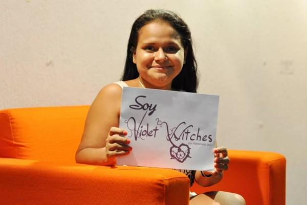 """Ángeles Salinas, coordinadora de Ddsser participó en la primera reunión de """"Violet witches"""". Foto: cortesía."""