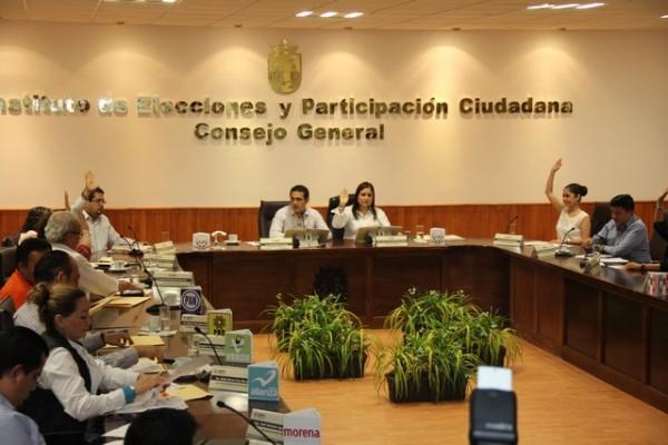 Aprueba Consejo del IEPC Registro de Candidatos y montos para Gastos de Campaña a Partidos Políticos.
