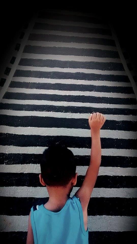 Pido pasar. Foto: Rubén Figueroa