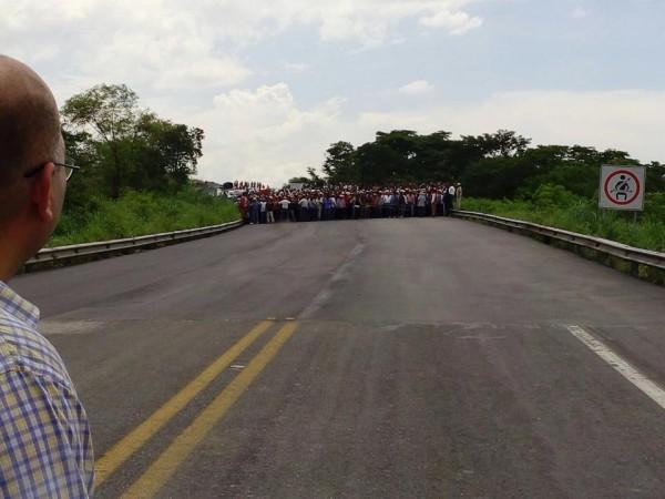 El día del bloqueo en la autopista