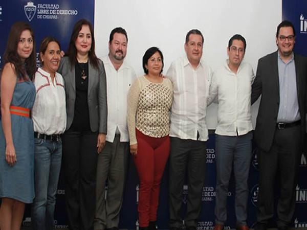 Clausura Presidenta del IEPC Segunda Semana de Derecho Electoral.