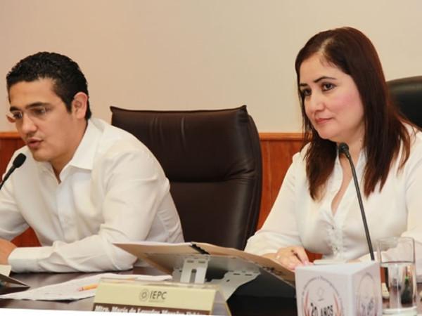 Los limites de Financiamiento Privado a Partidos Políticos para este Proceso Electoral, fueron aprobados en sesión extraordinaria.