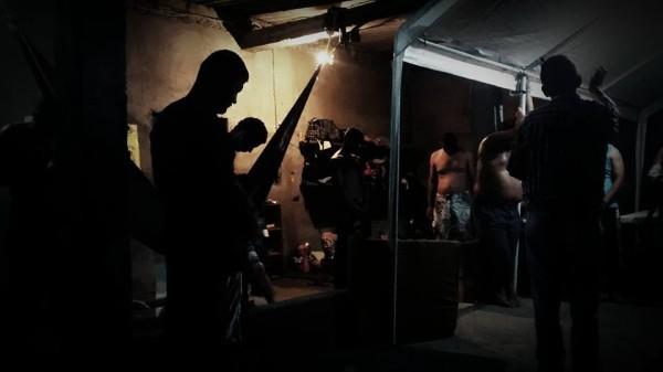 Domingo de oración en el albergue de Chahuites, Oaxaca. Foto: Rubén Figueroa.