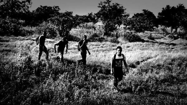Migrantes en su paso por el sur. Foto: Rubén Figueroa