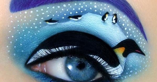 Fotografía de La maquilladora que contaba historias en los párpados @tal_peleg