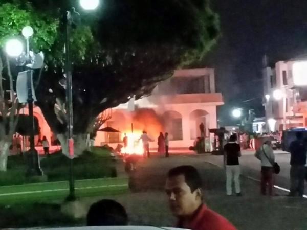 Violencia impidió cambio de poderes en Ocozocuautla. Foto: Cortesía